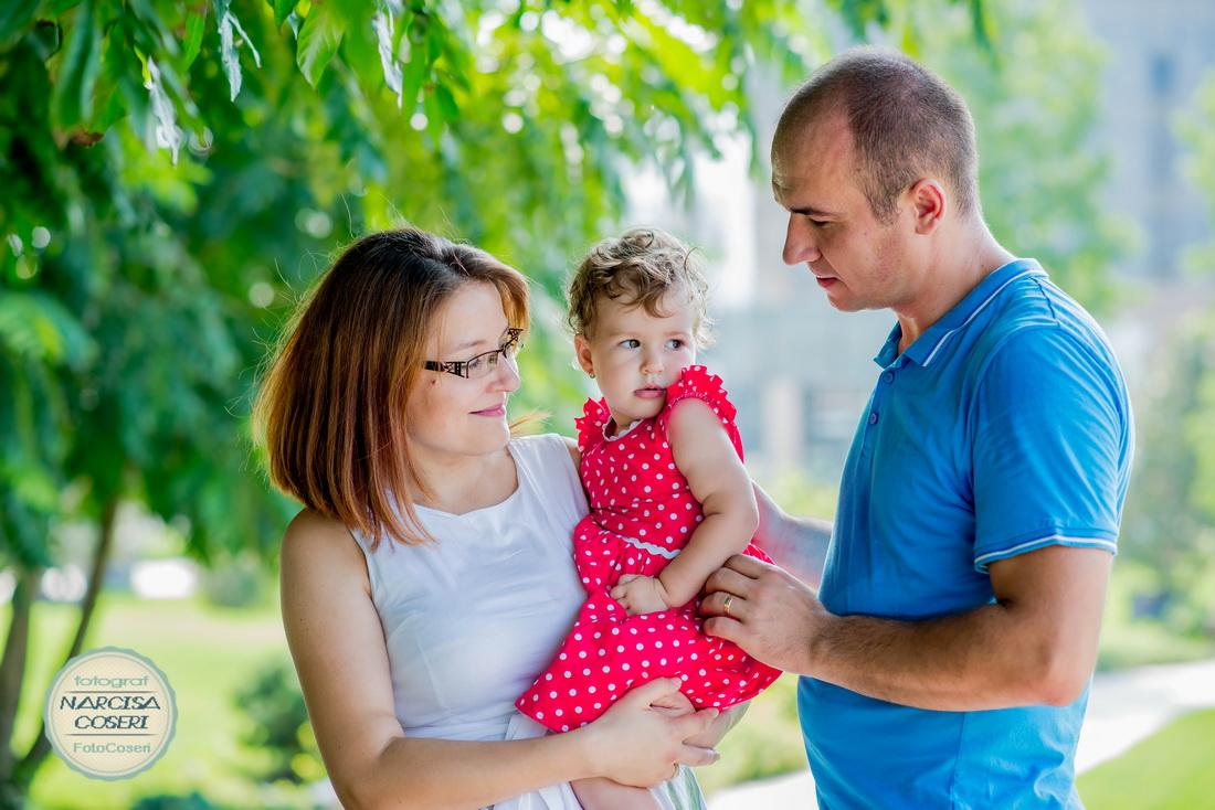 Sedinta foto family Alexia si parintii